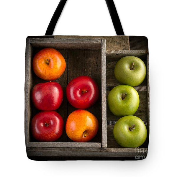 Apples Tote Bag by Edward Fielding