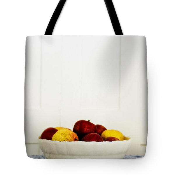 Apples Tote Bag by Margie Hurwich