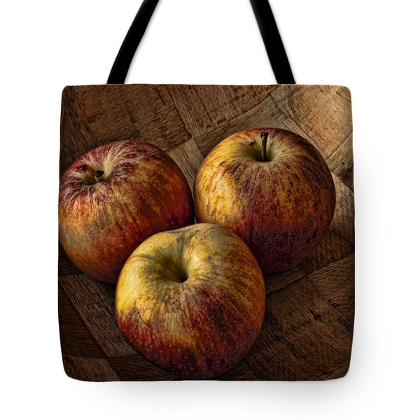 Apples Tote Bag by Steve Purnell