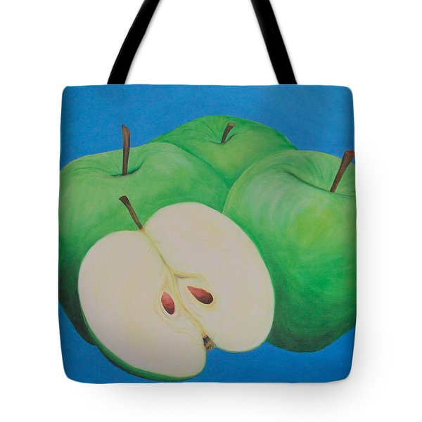 Apples Tote Bag by Sven Fischer