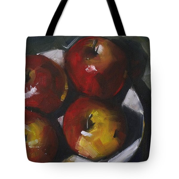 Appleshine Tote Bag