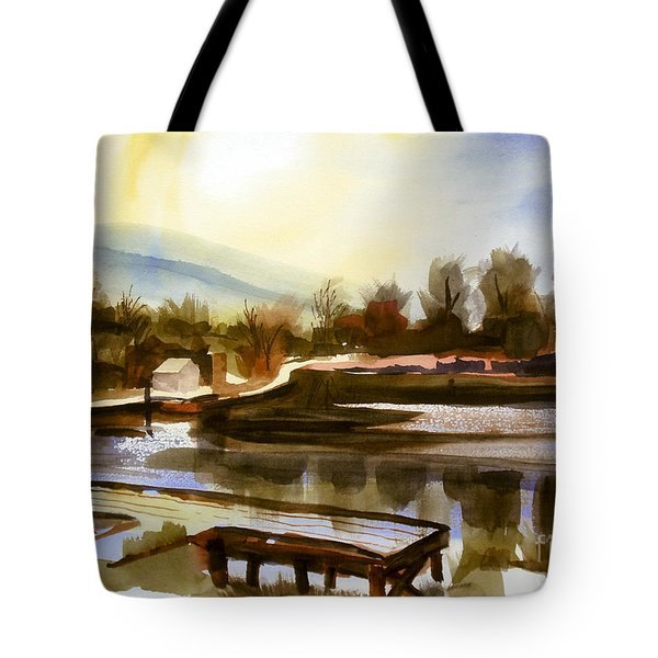 Approaching Dusk IIb Tote Bag