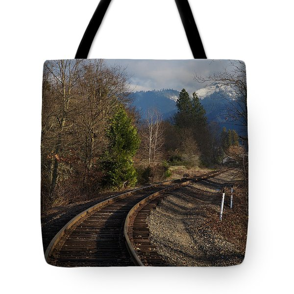 Approaching Grants Pass 1 Tote Bag by Mick Anderson