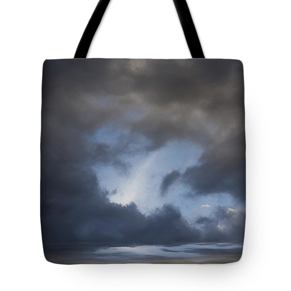 Approaching Storm Tote Bag by Ron Jones
