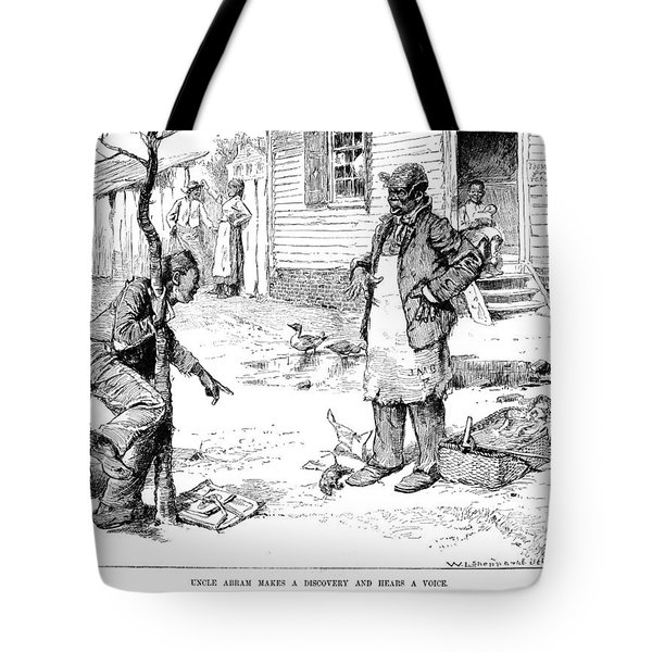 April Fool's Day, 1884 Tote Bag