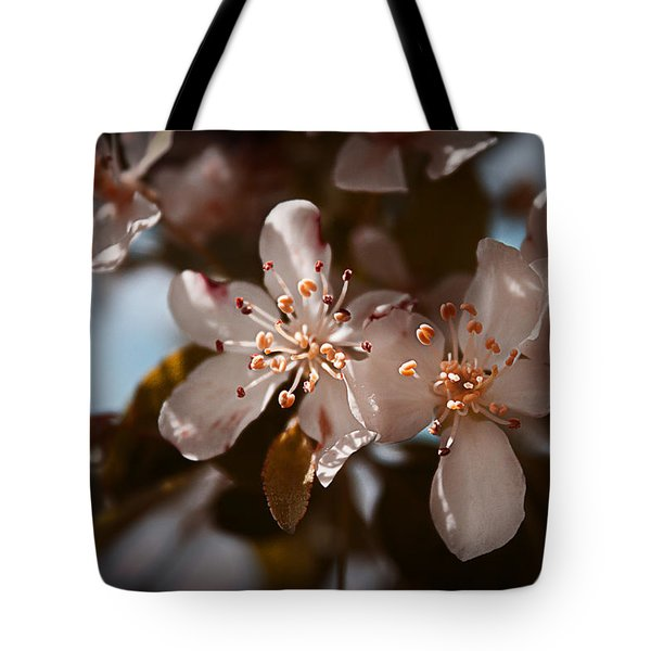April In Colors Tote Bag