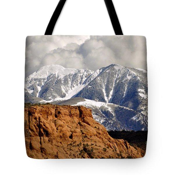 April In Utah  Tote Bag by Juls Adams