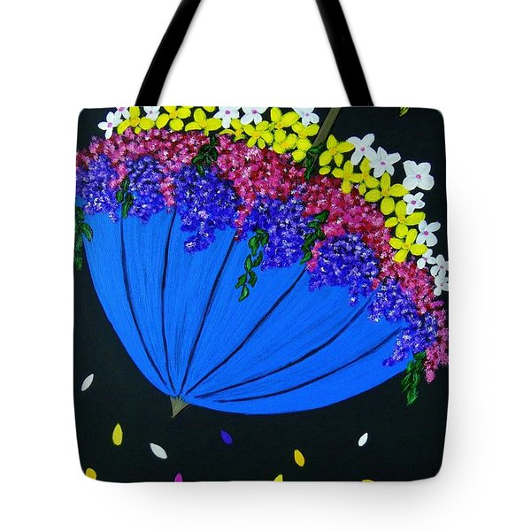 April Showers... Tote Bag