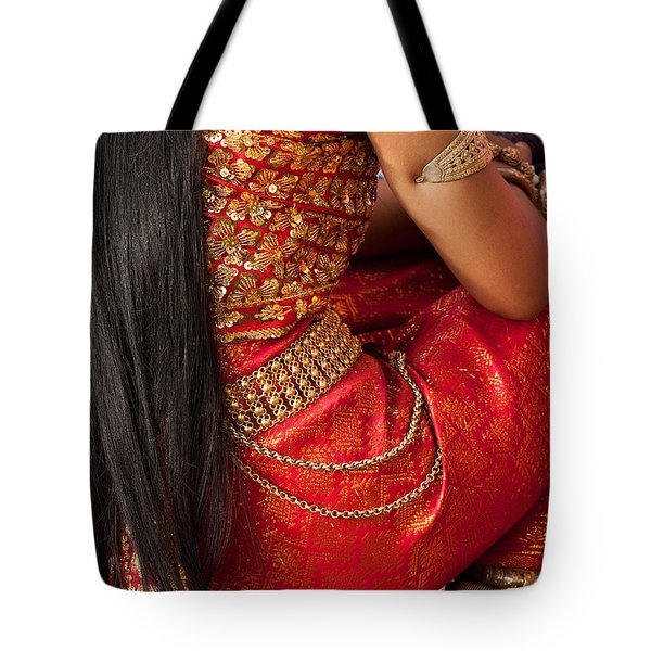 Apsara Dancer 03 Tote Bag
