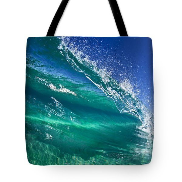 Aqua Blade Tote Bag