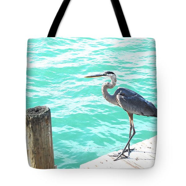 Aqua Bliss Tote Bag by Margie Amberge