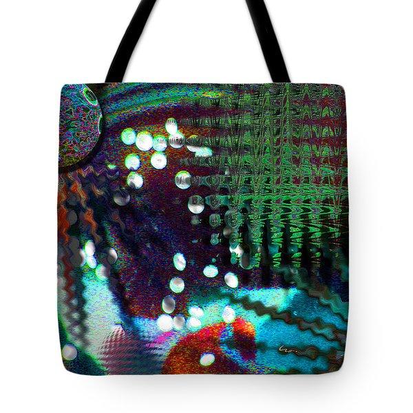 Aqua Dish Tote Bag