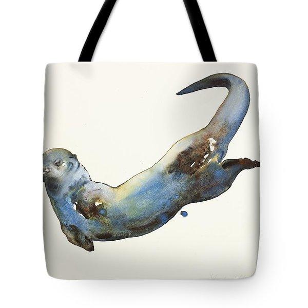 Aqua Tote Bag by Mark Adlington