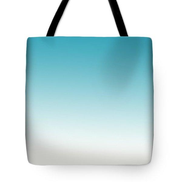 Aqua Sky Tote Bag by P S