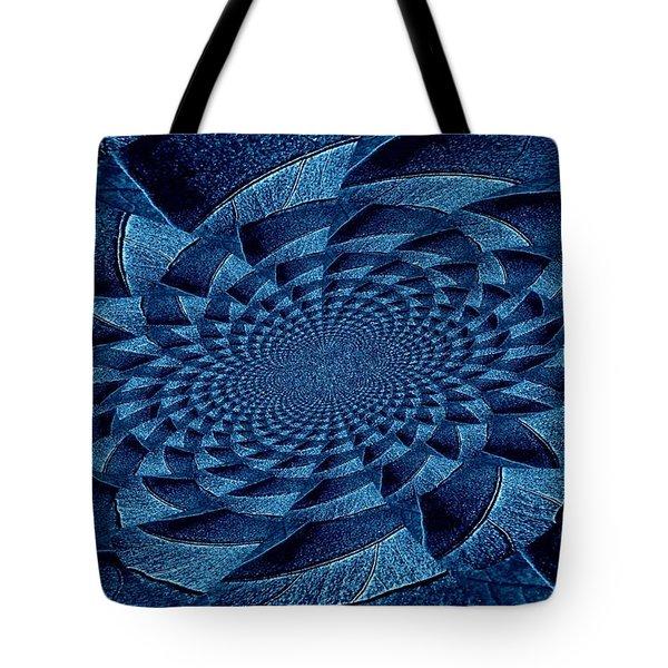 Aqua Tint Memories Tote Bag by Chris Berry
