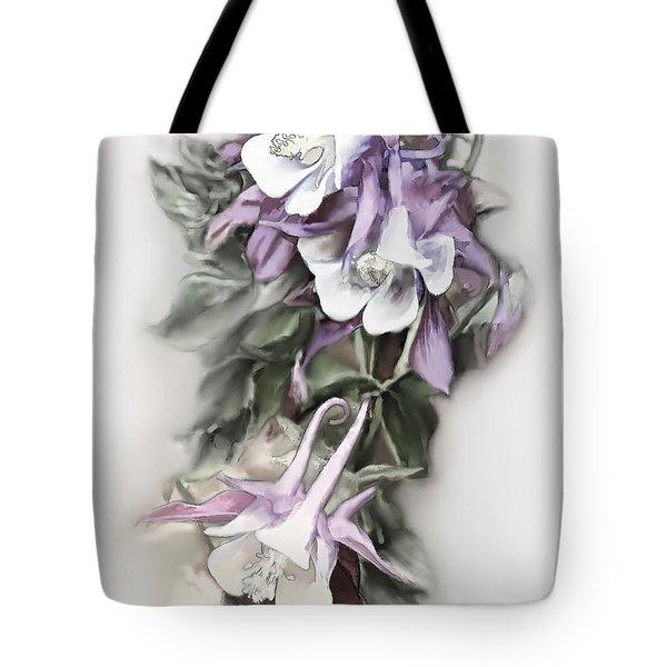 Aqualigia Cascade Tote Bag by Bonnie Willis