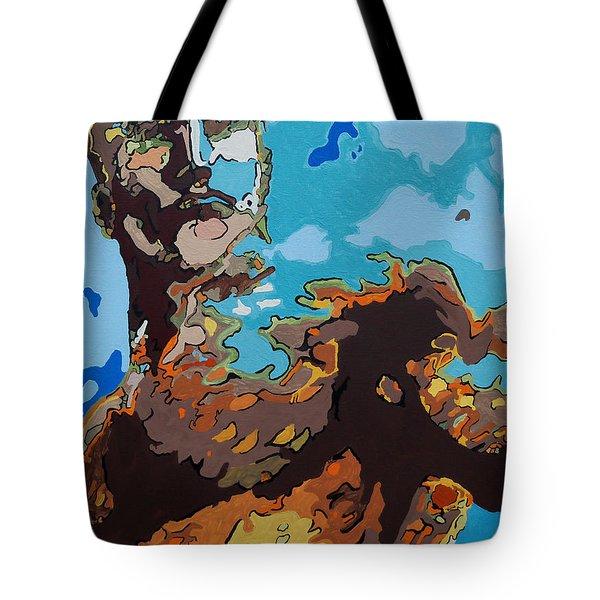 Aquaman - Reflections Tote Bag by Kelly Hartman