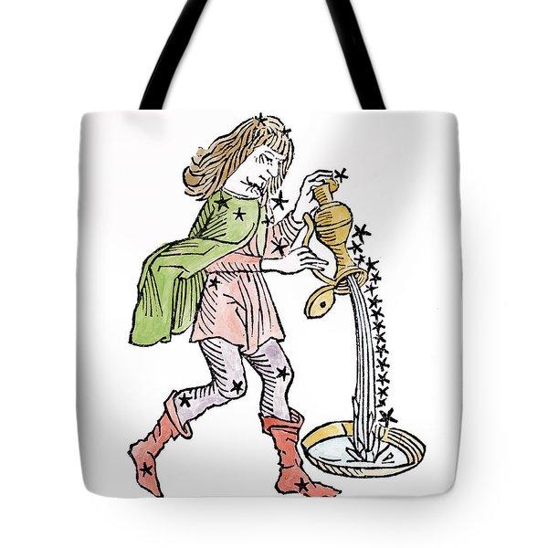 Aquarius An Illustration Tote Bag by Italian School