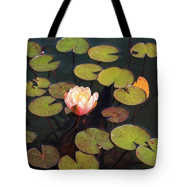 Aquatic Garden With Water Lily Tote Bag