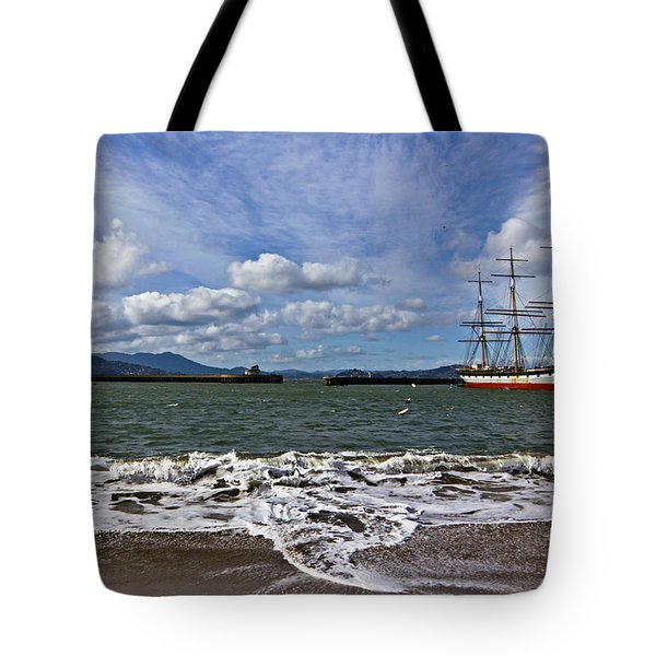 Tote Bag featuring the photograph Aquatic Park by Kate Brown