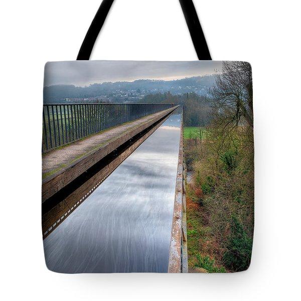 Aqueduct Tote Bag by Adrian Evans