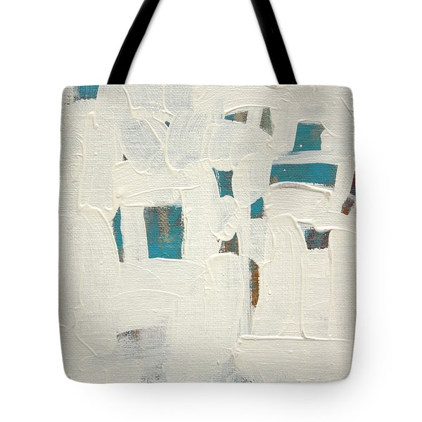 Tote Bag featuring the painting Aqueous  C2013 by Paul Ashby