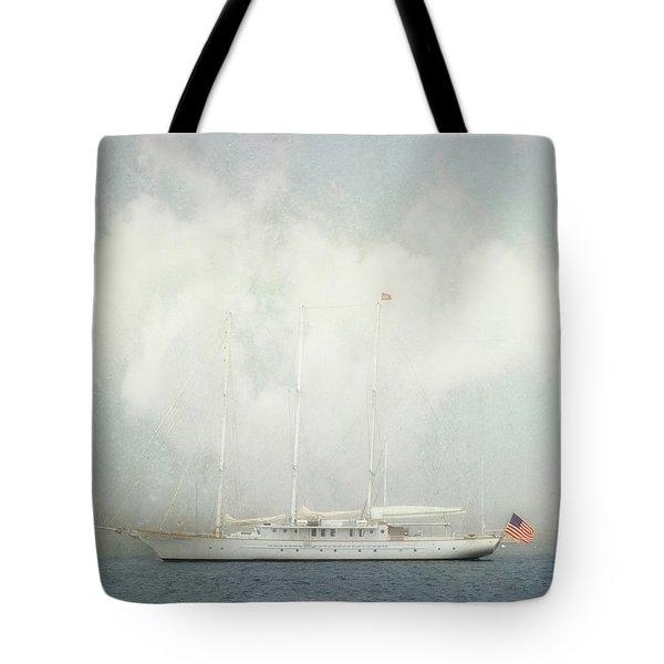 Arabella On Newport Harbor Tote Bag