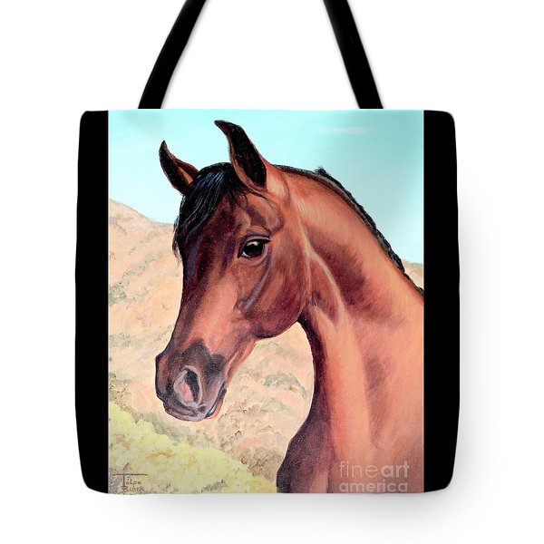 Arabian Beauty Tote Bag