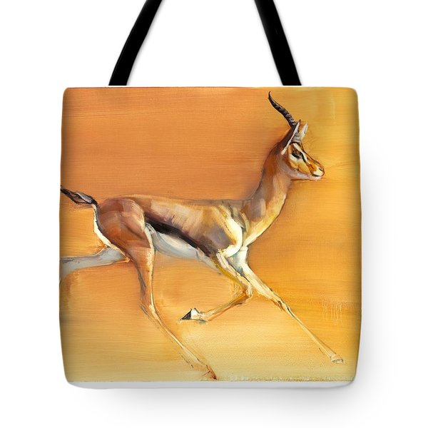 Arabian Gazelle Tote Bag
