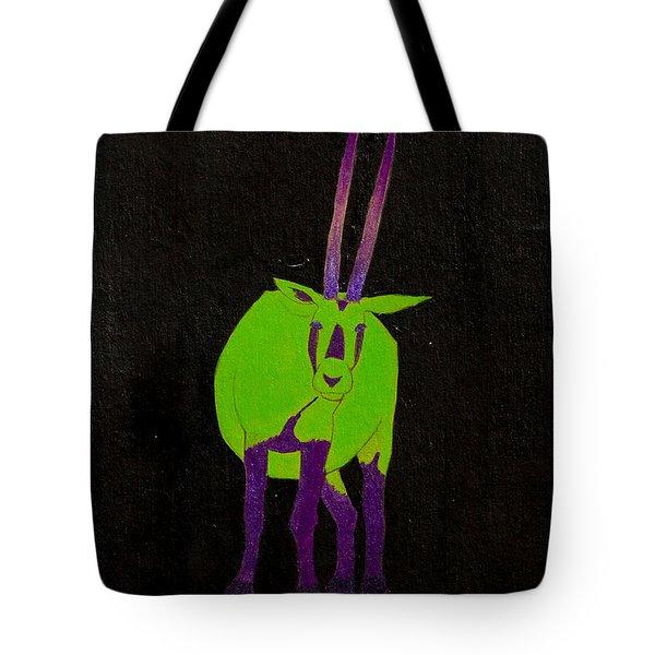 Arabian Oryx Tote Bag