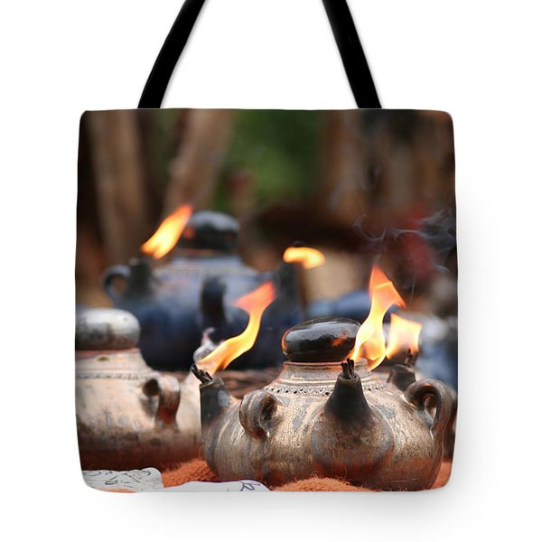 Arabic Oil Lamp Tote Bag