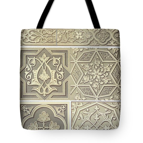 Arabic Tile Designs  Tote Bag by Anonymous