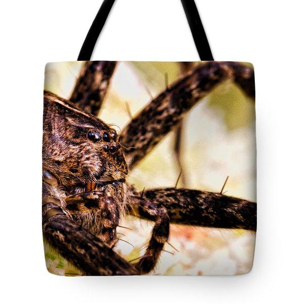 Arachnophobia Tote Bag by Bob Orsillo