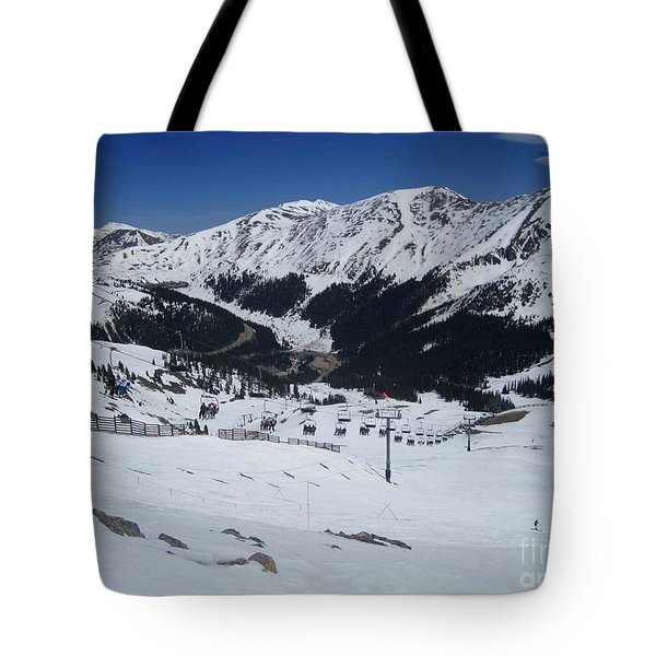 Arapahoe Basin June 2  Tote Bag by Fiona Kennard