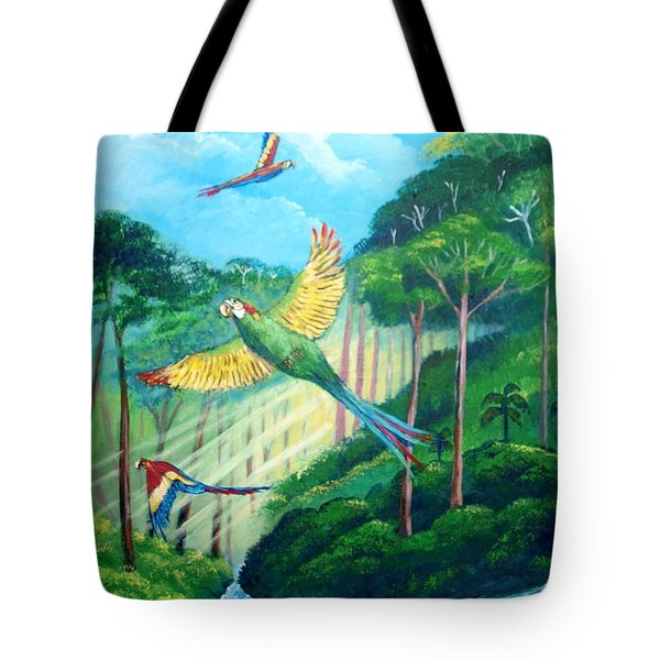Aras On The Forest Tote Bag