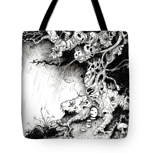 Arbol Tote Bag by Julio Lopez