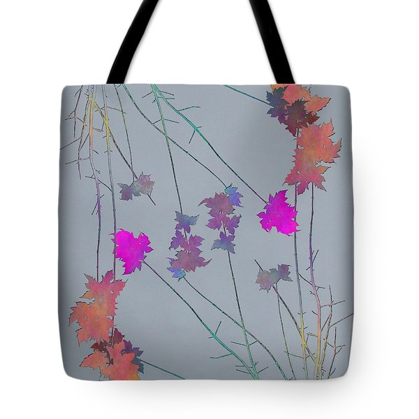 Arbor Autumn Harmony 1 Tote Bag by Tim Allen