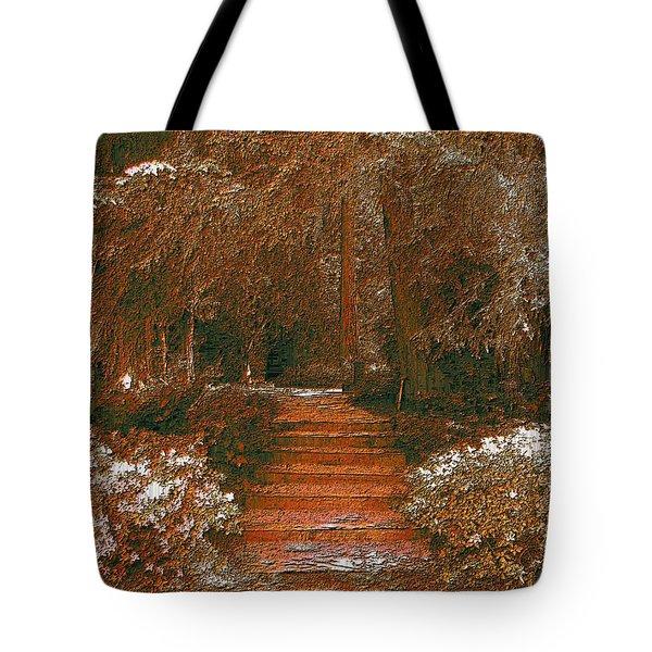 Arbor Steps Tote Bag by Tim Allen
