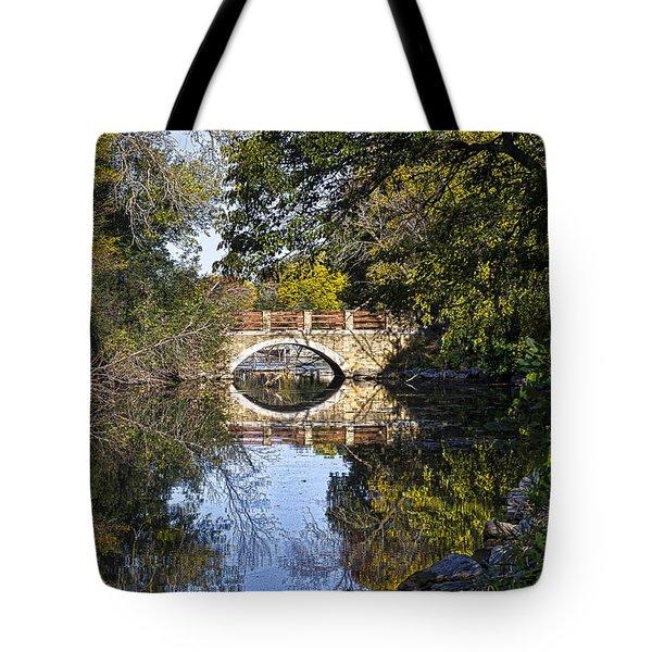 Arboretum Drive Bridge - Madison - Wisconsin Tote Bag