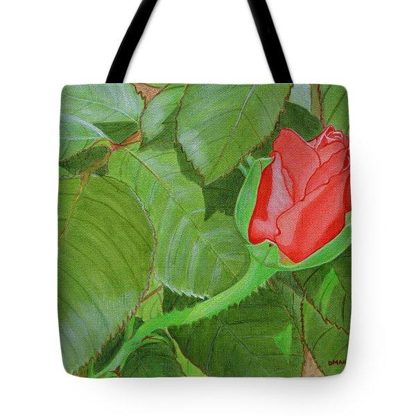 Arboretum Rose Tote Bag by Donna  Manaraze