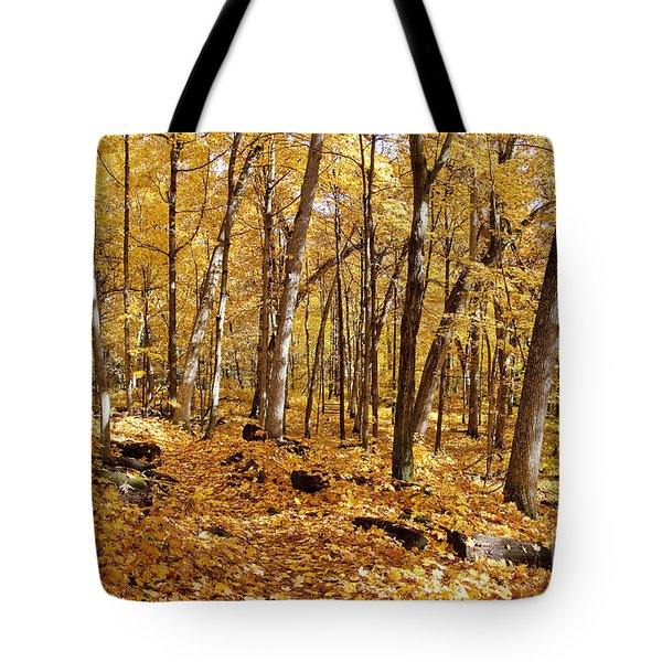 Arboretum Trail Tote Bag by Steven Ralser