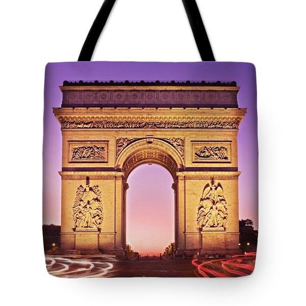 Arc De Triomphe Facade / Paris Tote Bag