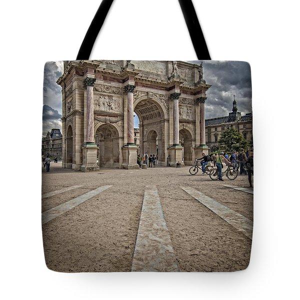 Arc De Triomphe Louvre  Tote Bag