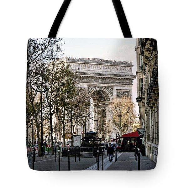 Arc De Triomphe Paris Tote Bag