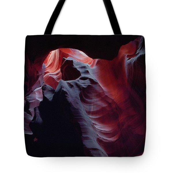 Arc Light-sq Tote Bag