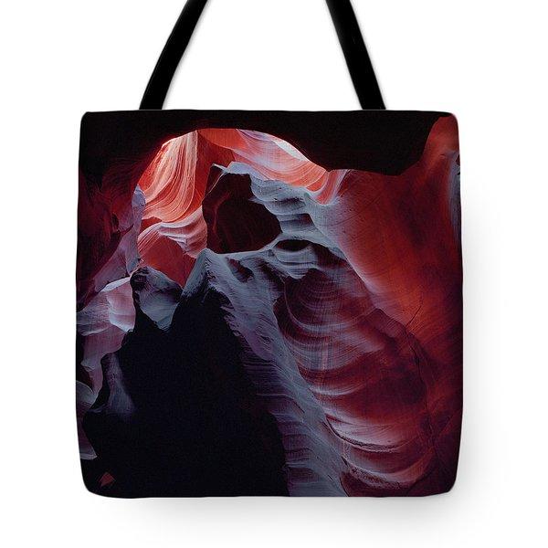 Arc Light-v Tote Bag