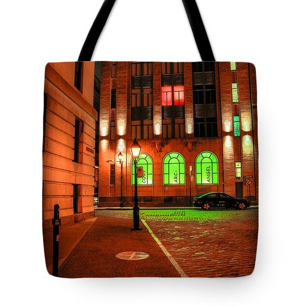 Arcangel At The Corner Tote Bag by Eti Reid