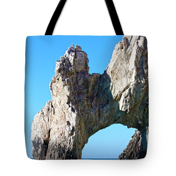 Arch At Land's End Tote Bag