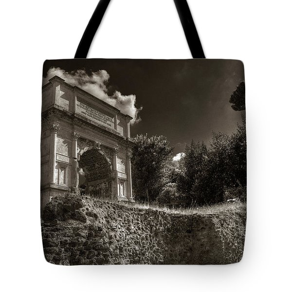 Arch Of Titus Tote Bag