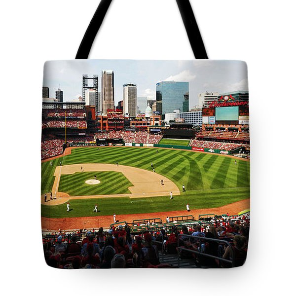 Arch Returns To The Outfield Tote Bag